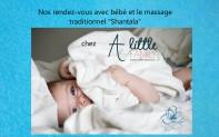 massage bébé chez little familly