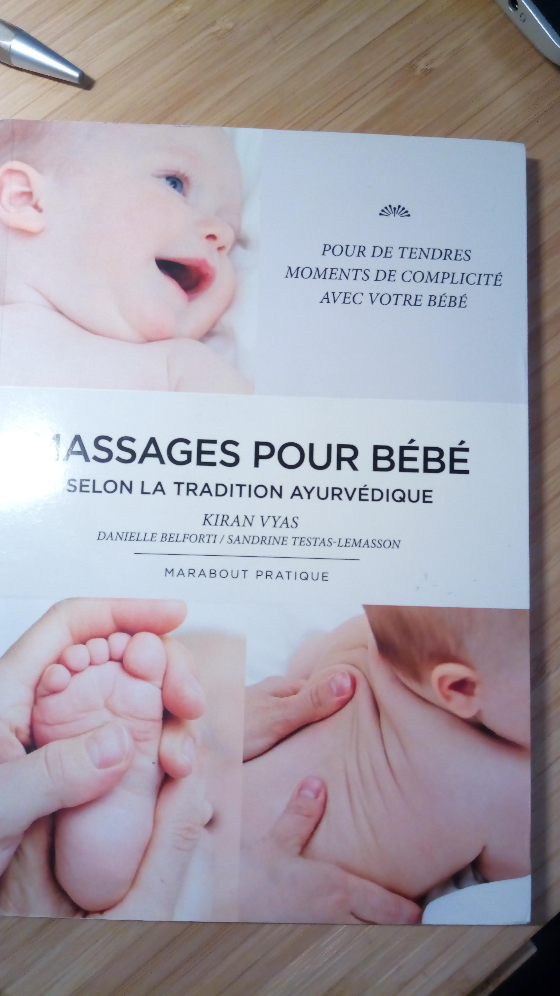 livre massage bébé